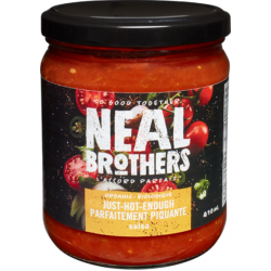 1 Case - 12pcs - NEAL BROTHERS - ORGANIC JUST-HOT-ENOUGH (organic medium) 410ml