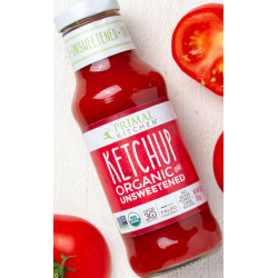 1 Case - 6 Pack, PRIMAL KITCHEN - CONDIMENTS, KETCHUP ORGANIC UNSWEETENED, 300ml